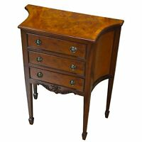 NOC083, Niagara Furniture, Chest of Drawers, Burled Commode