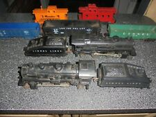Vintage Lionel Trains 1062 & 246 Engines With Tenders & Several Cars