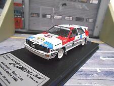 Audi Quattro Rallye Hunsrück 1985 #6 Duez SMS Schmid 1/250 SCALA 43 Trofeu 1:43