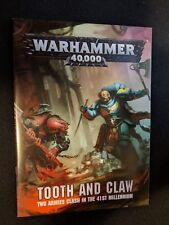 Warhammer 40k Tooth and Claw Rulebook