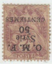 SYRIA  1920 ISSUE 5 CEN. UNUSED INVERTED OVERPRINT SCOTT 59 = YVERT 46