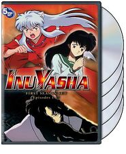 InuYasha . The Complete Season One . 1. Staffel . Inu Yasha . Anime .. 5 DVD NEU