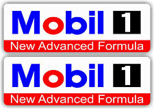 Mobil 1 Oil Racing Decal Gas Car truck Bumper Window Sticker atv Race Drag UTV