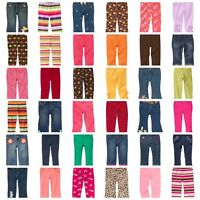 NWT GYMBOREE Baby Girl Kids Girl Jeans Capri Pants Adjustable or Elastic Waist
