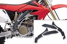 Custom MX Motocross Honda CRF 450X 05-15 Frame Guard Grip Tape Decal Kit - Black
