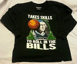 Boys Tee Shirt Medium 8 Black Takes Skills
