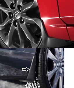 2019-2021 Mazda 3 (4 Door Sedan) Front and Rear Splash Guards  (set of 4)