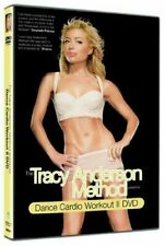 The Tracy Anderson Method Dance Cardio Workout II two DVD Keep fit Exercise