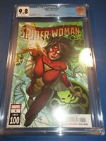 Spider-Woman #5 Great Land A Cover CGC 9.8 NM/M Gorgeous Gem Wow