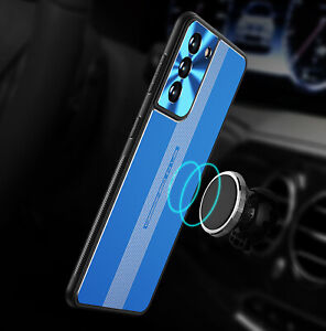 For Samsung Galaxy S20 FE S21 Plus Ultra 5G Hybrid Metal Magnetic Cover Case