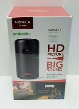Nebula Capsule II Smart Portable Projector - Black