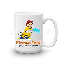 Personalised Gift Hero Fire Fighter Fireman Large Mug Cup Tea Coffee Present Fun