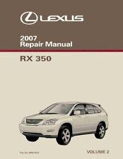 Lexus rx 350 2007 manual