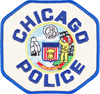 CHICAGO POLICE SHOULDER PATCH: Police Officer (TWILL)