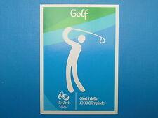 Panini Italia Team Rio 2016 Figurina n. 11 Logo Golf