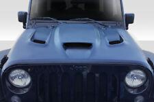 Duraflex Hellcat Look Hood Body Kit 1 Pc For Jeep Wrangler 07-18