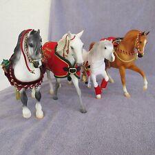 Breyer Christmas Holiday Horses Snowball Snowflake Jack Frost Holiday Hunt Tradi