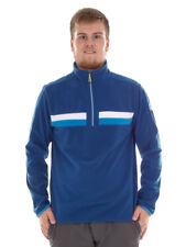 CMP Fleece Pullover Kragenpullover Blau Insulating Breathable Zip