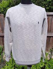 Polo Ralph Lauren Cotton-Blend Men's Fleece Sweatshirt, Grey Marl - M
