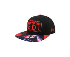 best cheap 354ea c9891 NEW ERA 9Fifty Viza Print Return Of The Jedi Black Red Snapback Cap Adult  Hat