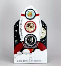 2019 US Mint Rocket ship 2-coin Set.  SPECIAL FINISH PROOF LIKE JFK!!