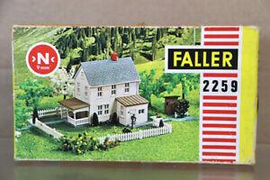 FALLER 2259 N GAUGE COUNTRY 2 STORY HOUSE MODEL KIT MINT BOXED nz