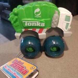 My First Tonka Mini Wobble Wheels Mini Garbage or Recycling Truck NEW W TAG