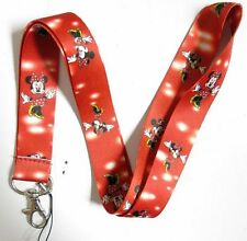 10Pcs Red Minnie Mouse Mobile Phone Necklace Strap Lanyards ID Card Holder A169