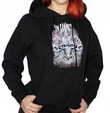 In Flames-Triple Jester-Girl Con Cappuccio Maglione Hooded Sweater-taglia size XL