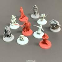 Random 3 pcs For Dungeons & Dragon D&D Board Game Miniatures figure Toys
