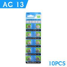 10 x Alcalina AG13 357A CX44 LR44W A76 L1154 1.55 V BUTTON MEDAGLIA celle batteriesuk
