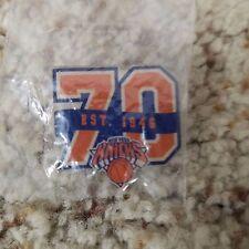 a5d473f5cb14 NBA - New York Knicks 70th Anniversary Pin (Mint In Bag)
