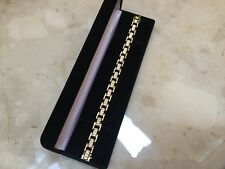 "14K Yellow Gold 7.5"" Link Bracelet - Stunning ITALY MUST SEE"