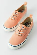 Sperry Sneakers 9 Crest Cvo Retro Coral Lace Up Tennis Shoes Memory Women's Nib