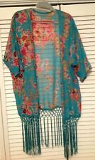 LADIES SHEER COVER UP TOP BLOUSE