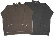 Men's Zip Neck Wool Jumpers & Cardigans
