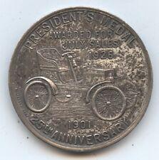 Award Token 1926 Franklin Automobile Co. 35MM (#7558) Presidents Award. 25th
