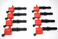 REV Ignition 8 High Output Ford DG511 Ignition Coils 4.6L, 5.4L V8