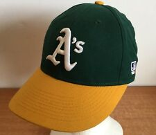 Oakland Athletics Hat Baseball Cap Youth OC Sports MLB Adjustable A's Green