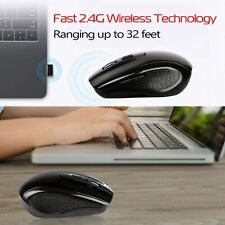 Wireless 1600DPI 2.4GHz Optical Mouse Mice W/ USB 2.0 Receiver  for PC Laptop