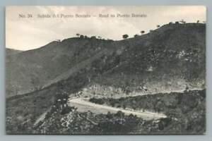 Road to Puerto Boniato~Antique CUBA Postcard Tarjeta Subita 1910s