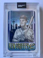 Topps PROJECT 2020 Card 177 - 1989 Ken Griffey Jr. by Mister Cartoon - In hand!