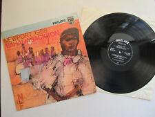 "Mahalia Jackson  Newport 1958 12""  LP Philips BBL 7289 Mono  UK 1958"