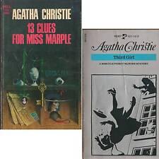 LOT 2 PB Agatha Christie 13 CLUES FOR MISS MARPLE + THIRD GIRL C2
