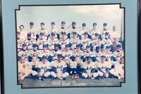 1969 New York Mets World Series Champs Team Signed 16x20 Photo Nolan Ryan Seaver