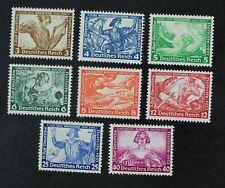 CKStamps: Germany Stamps Collection Scott#B49/B57 Mint H OG