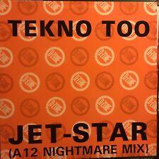 TEKNO TOO • Jet Star • Vinile 12 Mix • D-ZONE