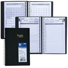 2022 Brownline C250481t Daily Planner Appointment Book 8 X 5