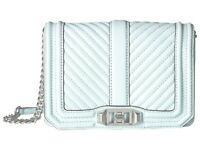 Rebecca Minkoff Small Love Taupe Chevron Patchwork Crossbody Bag RM HS18SCPX45 2