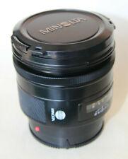 Minolta AF 85mm F1.4 Telephoto Prime Lens Alpha Mount Sony A-Mount
